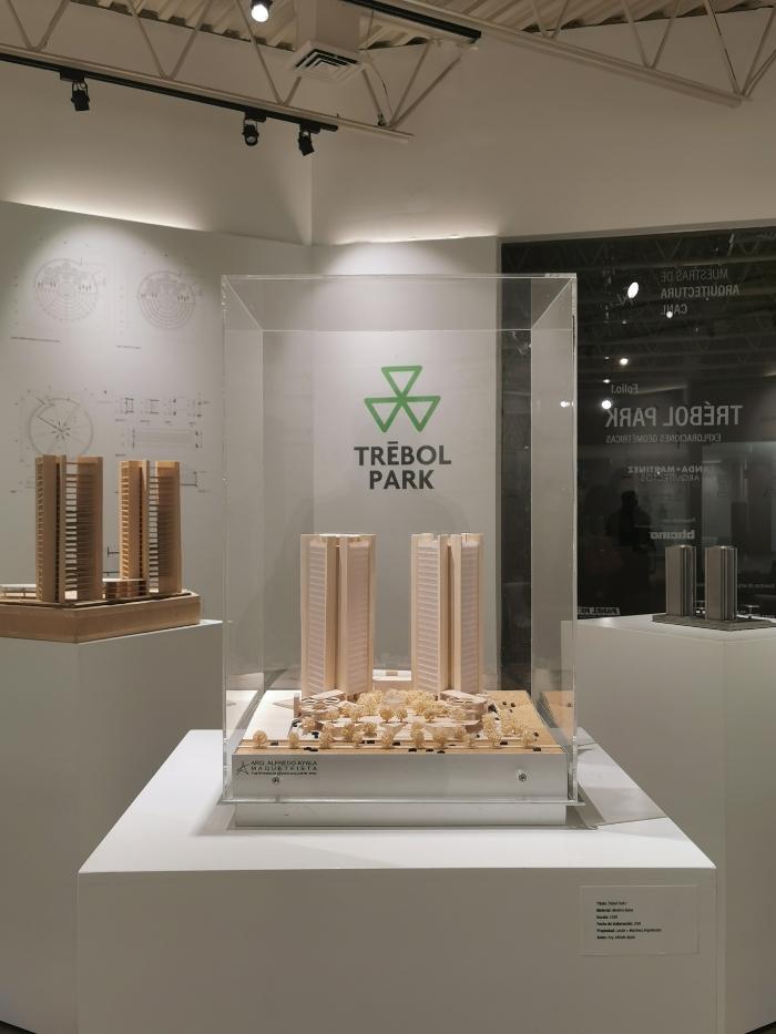 Trébol Park, exposición virtual
