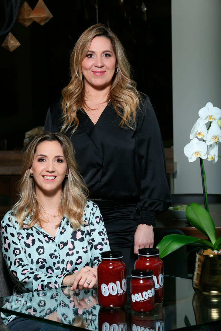 Christiane Savignon y Paola Savignon