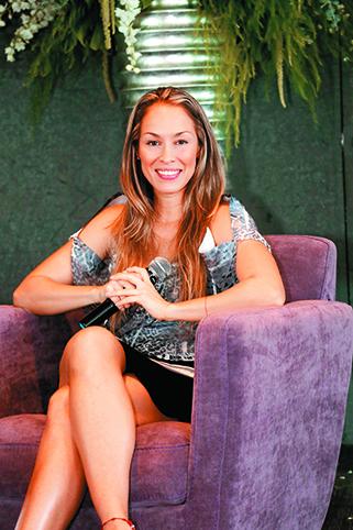 Valeria Lozano y sus buenos hábitos.