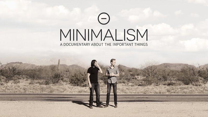 Minimalismo: las cosas importantes