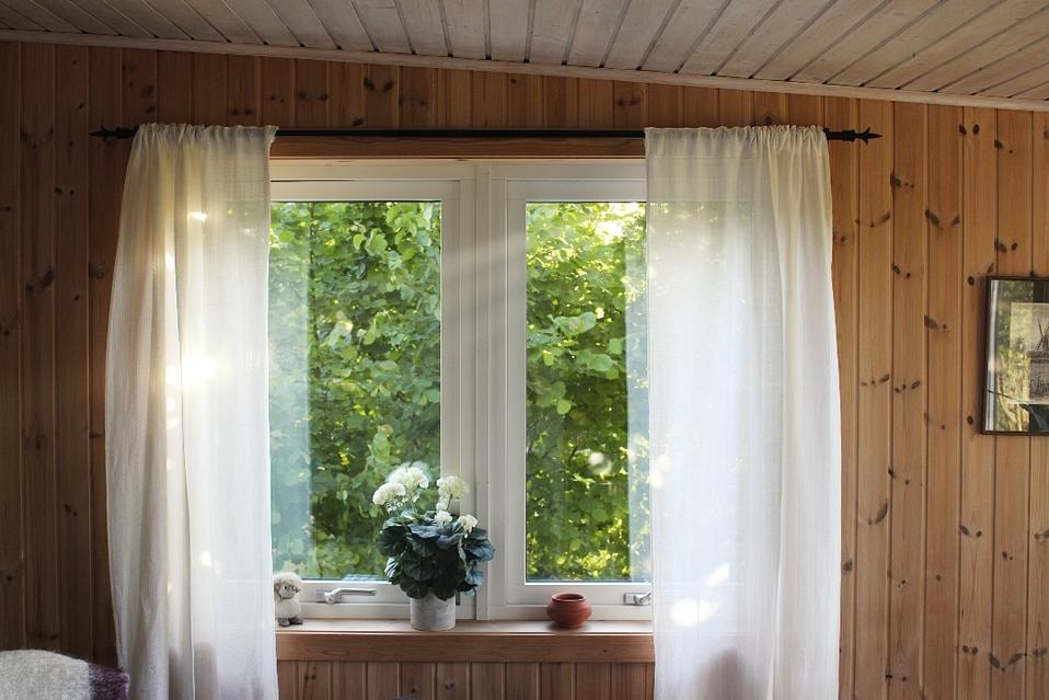 Abrir las ventanas durante el verano