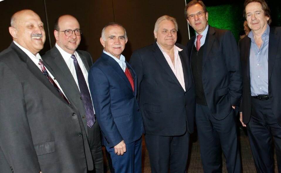 Alfonso Romo junto a Reyes Tamez, Carlos Bremer, Esteban Moctezuma y Sergio Gutiérrez