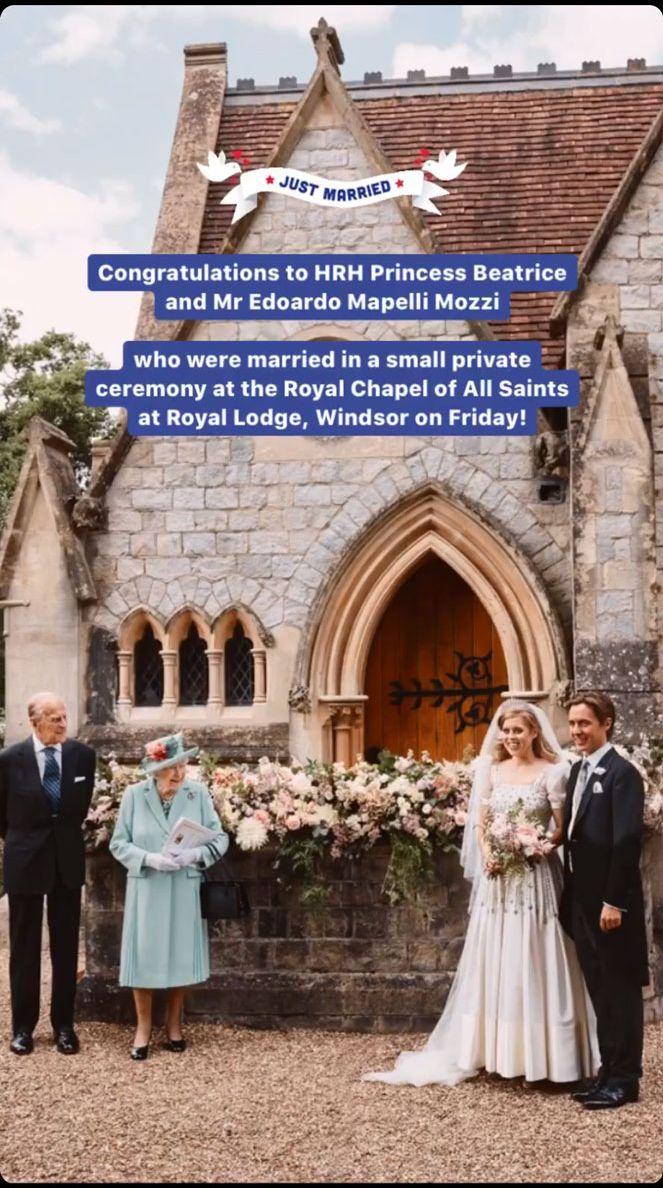 Princesa Beatriz: Así reaccionó la familia real de su boda secreta