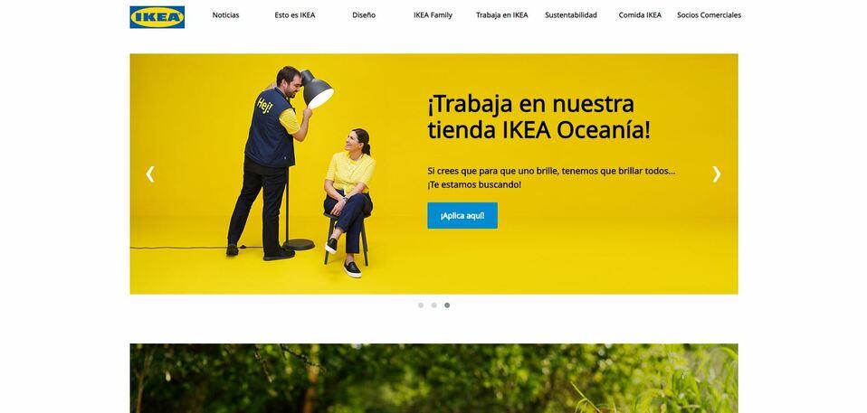 Ikea inaugurará su sitio web en México