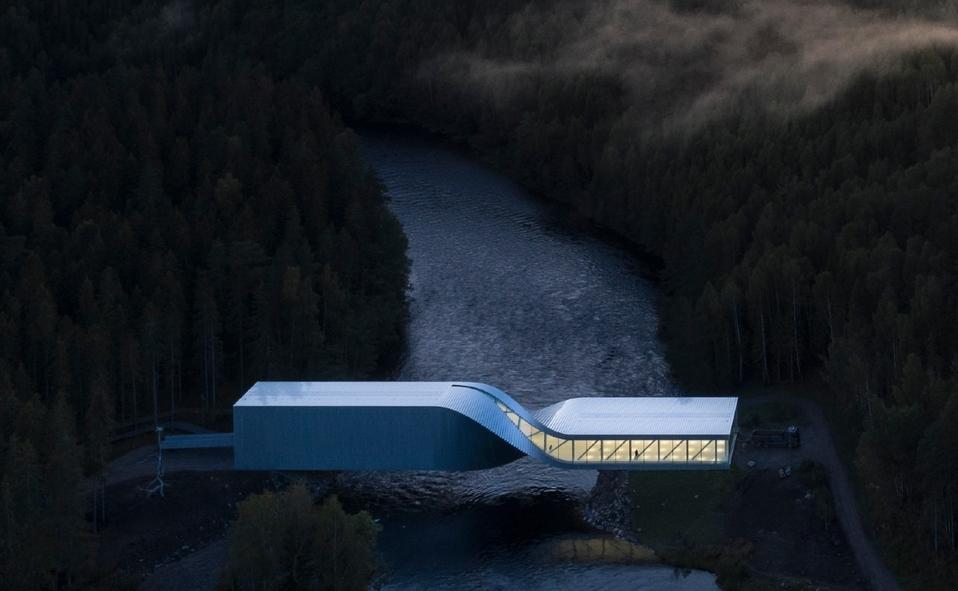 The Twist / Kistefos Gallery en Jevnaker, Noruega