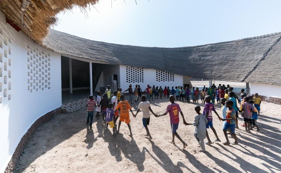 Escuela Fass y residencias de maestros en Fass, Senegal