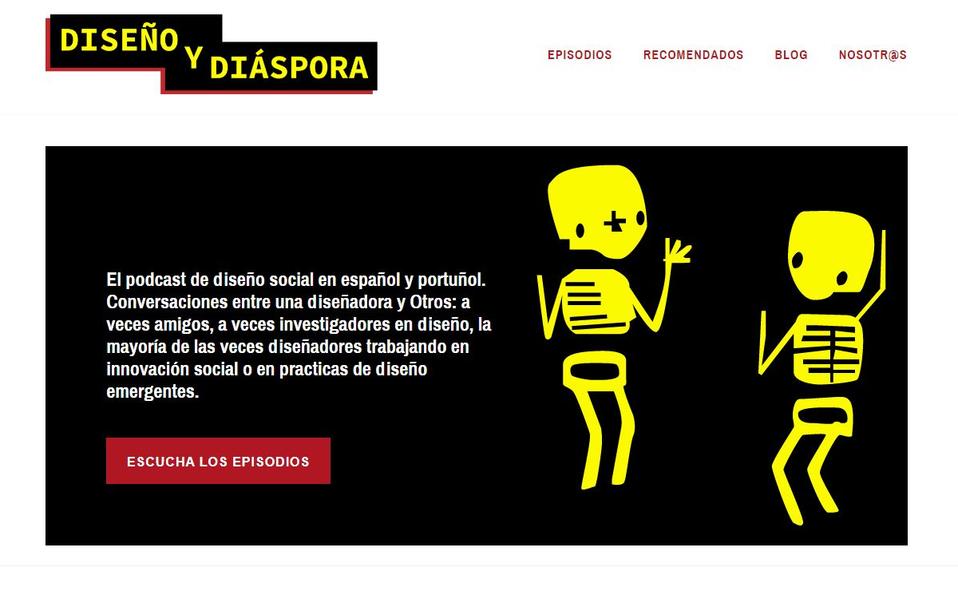 Diseño y Diaspora podcast