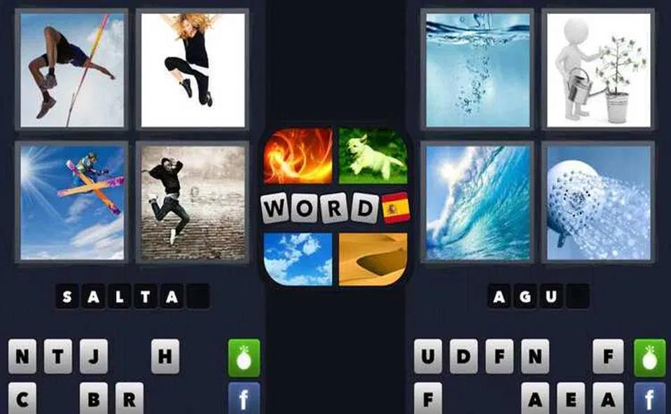 4 fotos 1 palabra
