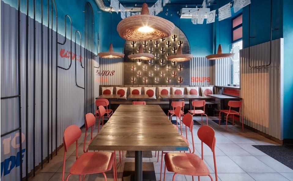 Burrito loco, restaurante de comida mexicana en Praga