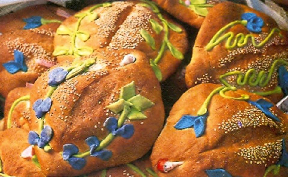 Pan bordado