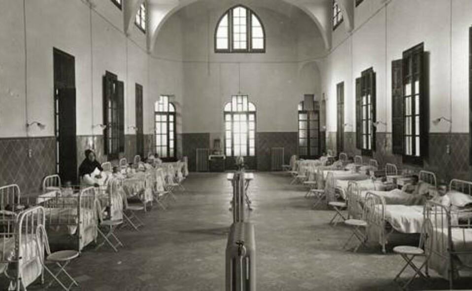 Hospital en Europa a comienzos del siglo XX