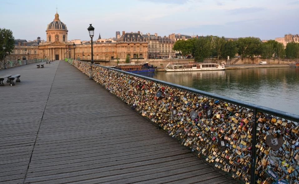 Pont des Arts en París
