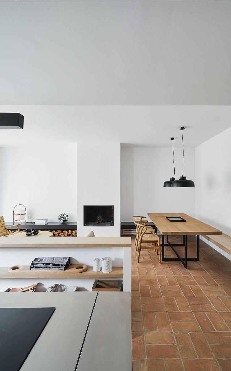 Interiores minimalistas