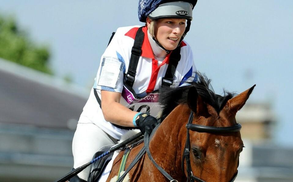 La equitación es la pasión de Zara