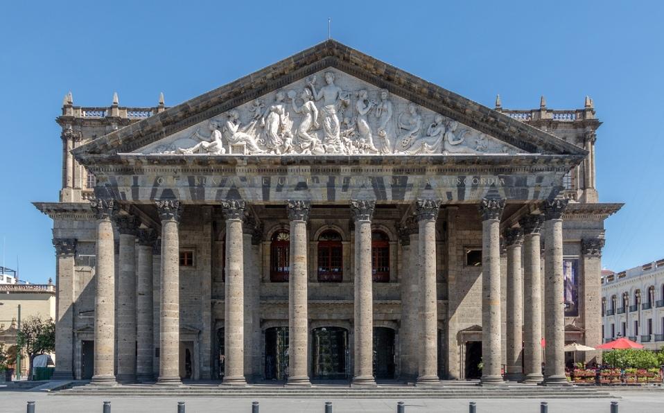 Teatro Degollado en Guadalajara
