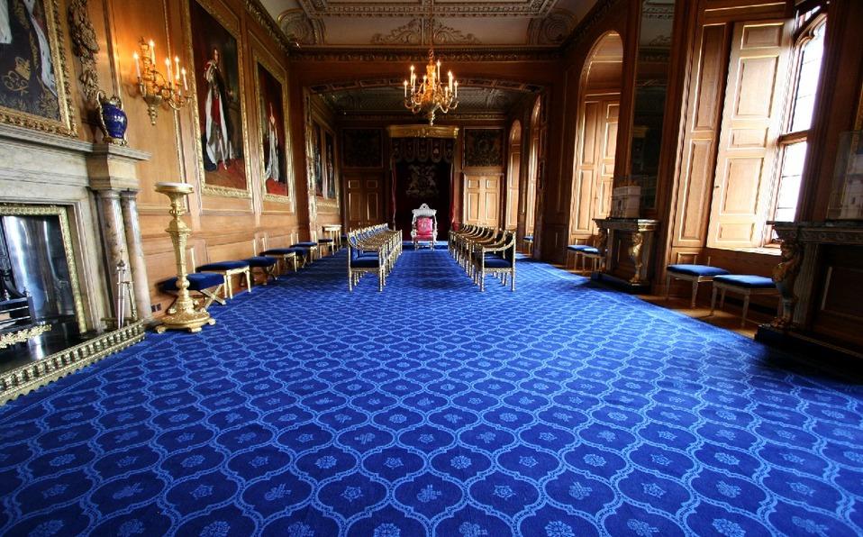 Interiores del Castillo de Windsor