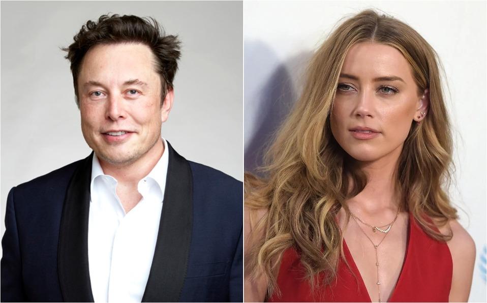 Elon Musk y Amber Heard