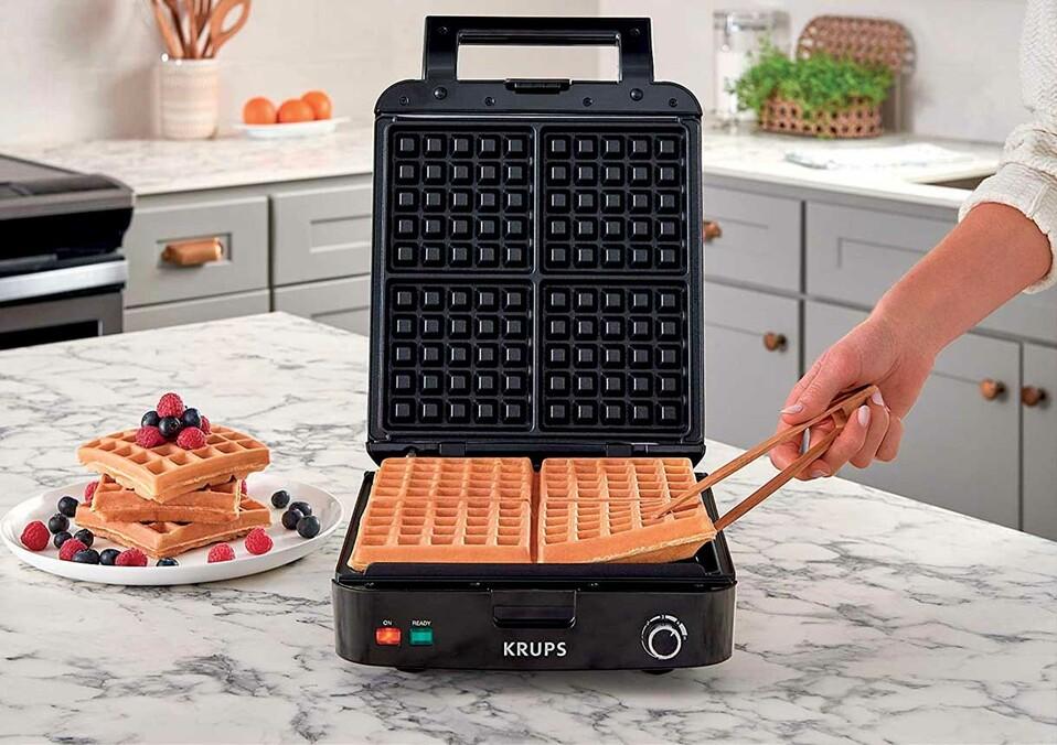 wafflera belga de KRUPS