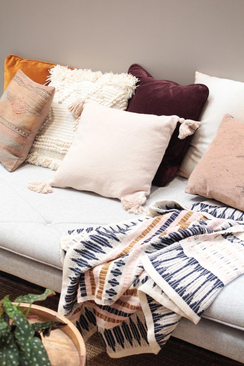 Decorar con textiles