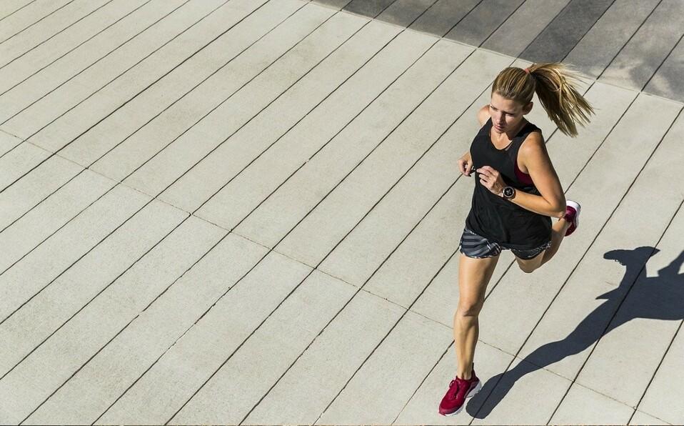 Correr quema calorías más rápido